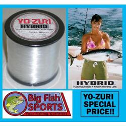 Kyпить YO-ZURI HYBRID Fluorocarbon Fishing Line 600yd CLEAR COLOR NEW! PICK YOUR SIZE на еВаy.соm