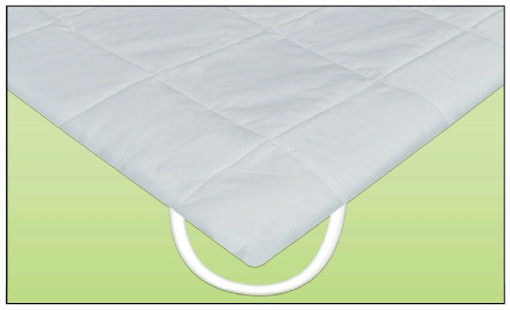 Quilted Anchor Band Freeflow Waveless Waterbed Mattress