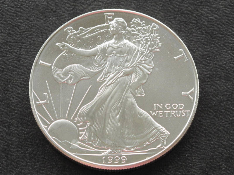 1999 Liberty Walking American Silver Eagle Dollar Coin Ebay