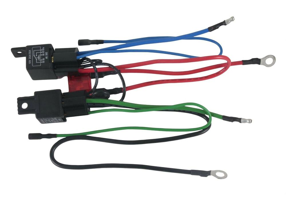 new wiring harness convert 3 wire tilt trim motor to 2 wire 30 amp fuse 2 relays ebay