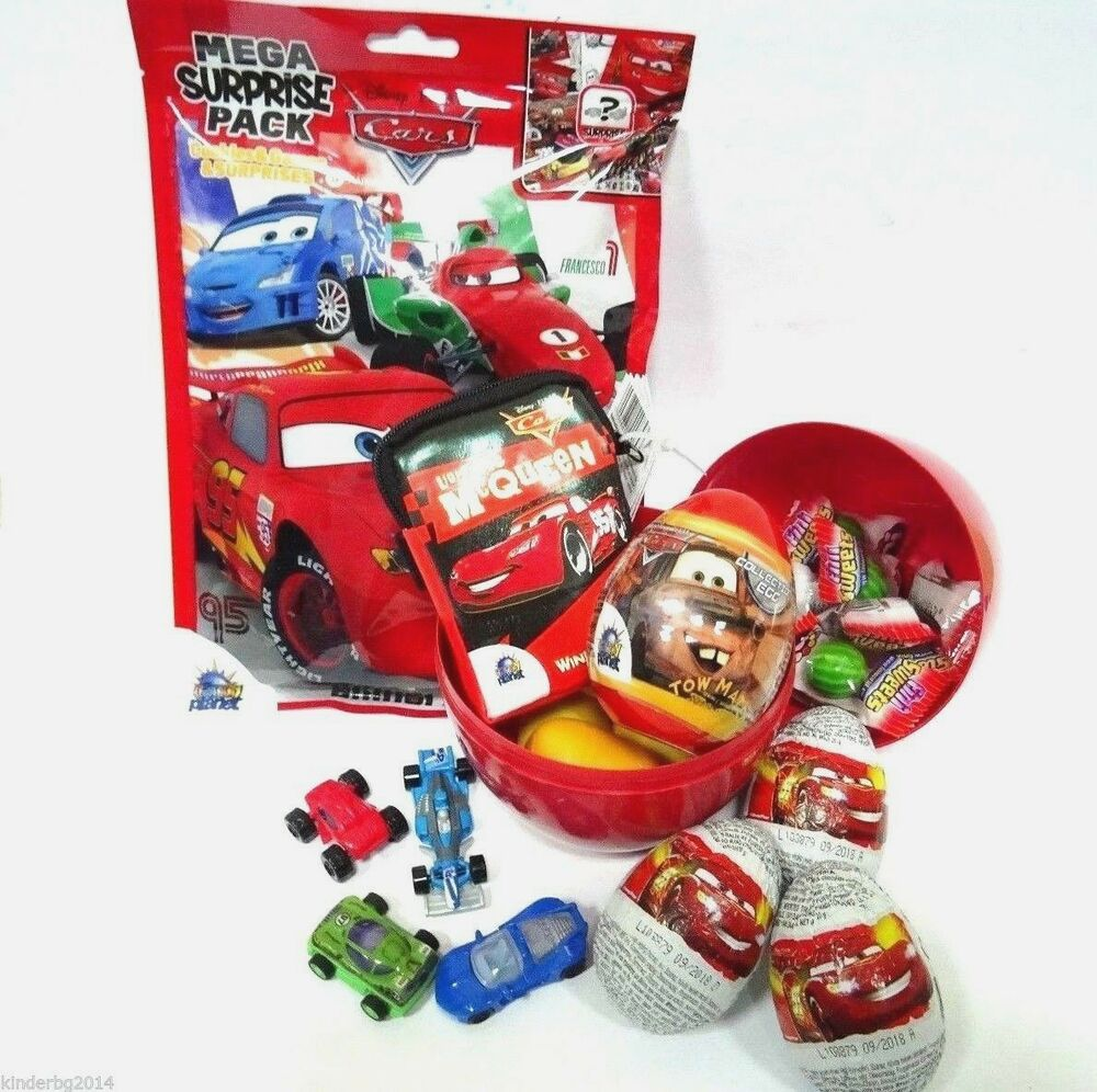 Disney Cars Kinder Surprise Toys Giant Big Surprise Filled