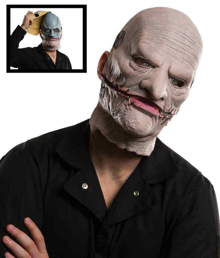 Corey Taylor Mask Slipknot Gray Chapter Tour Halloween ...