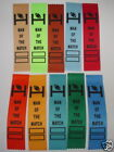 FOOTBALL/AFL /NRL AWARD RIBBONS, FUN,KIDS ENCOURAGEMENT