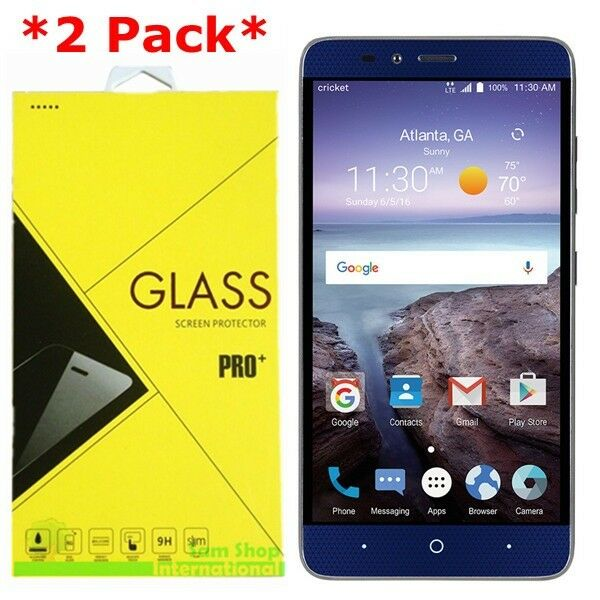 zte grand x max 2 tempered glass can use any