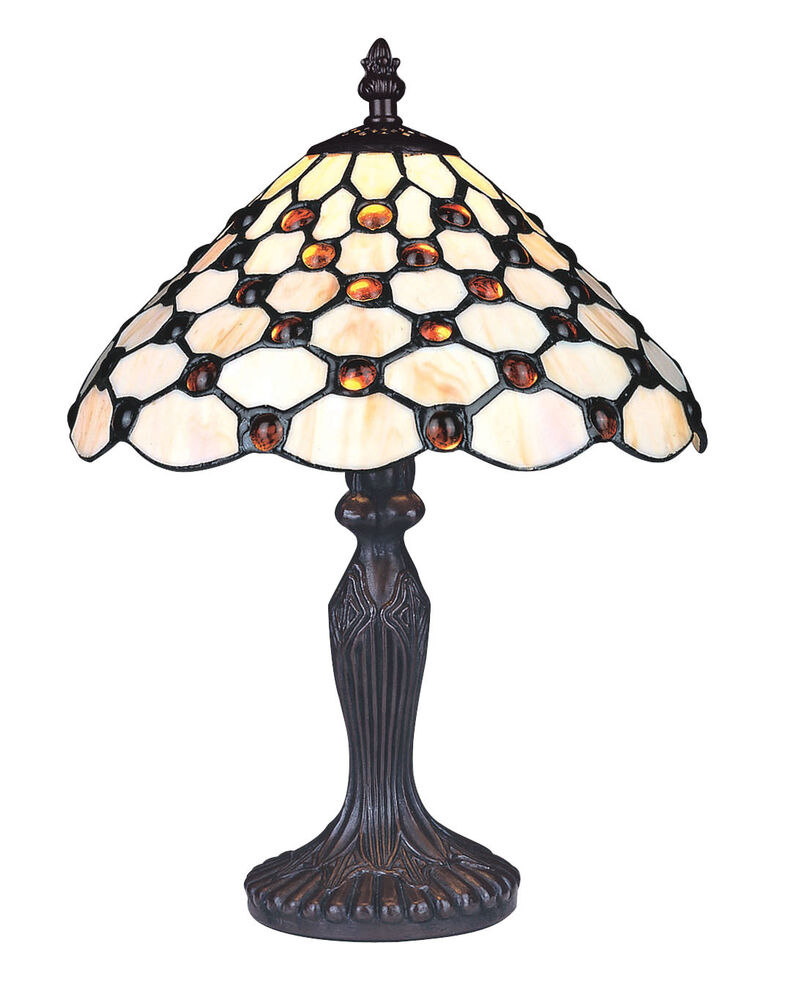 Tiffany Style Unique Stained Glass Desk Table Lamp