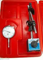 """0-1"""" DIAL GAUGE DTI WITH MAGNETIC BASE STAND FROM CHRONOS"""