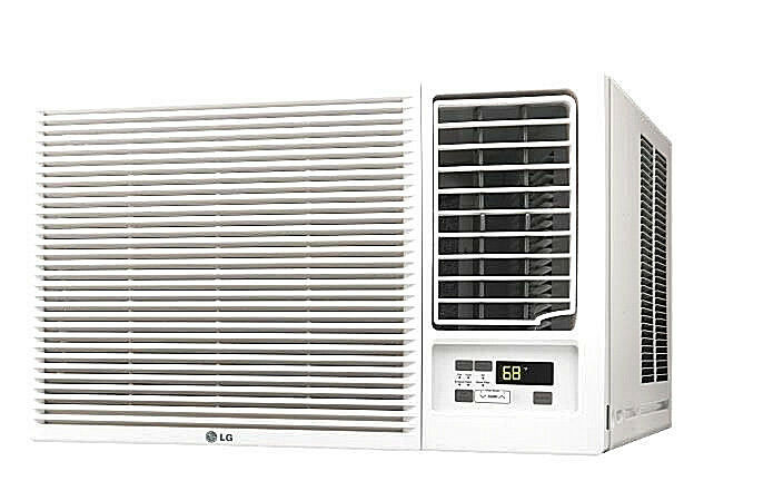 lg lw1816hr 18 000 btu 220v window a c w heat remote