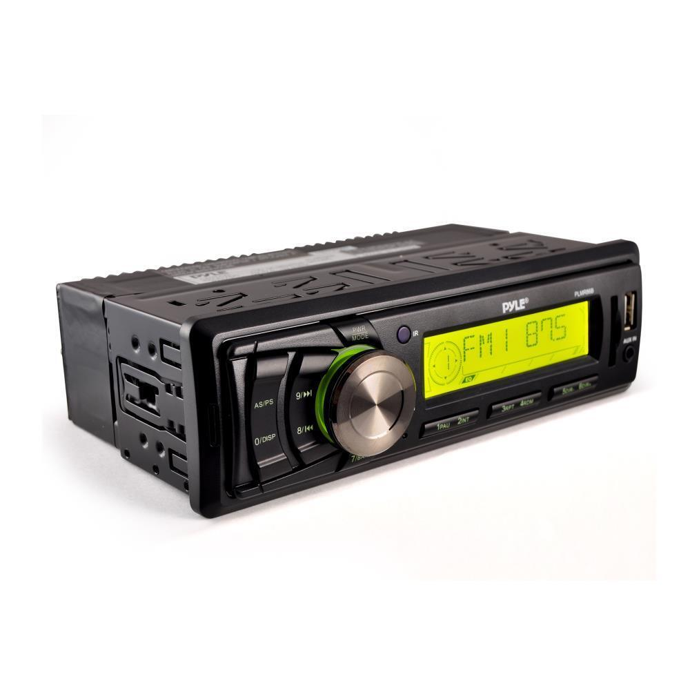 New Pyle Plmr86b Marine Am  Fm Stereo Player Receiver Aux