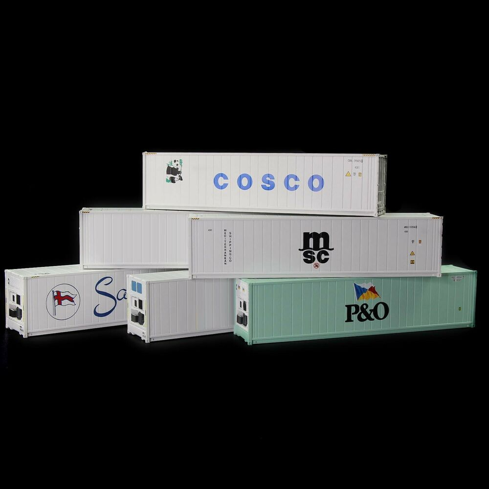 40ft Hi-Cube Refrigerater Shipping Container Freight Cars