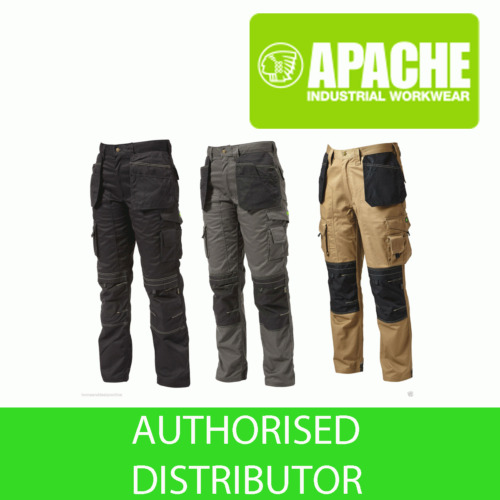 Apache Knee Pad Holster Work Trouser APKHT Black Grey Stone Navy