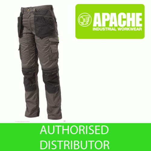Apache Knee Pad Holster Work Trouser APKHT- GREY
