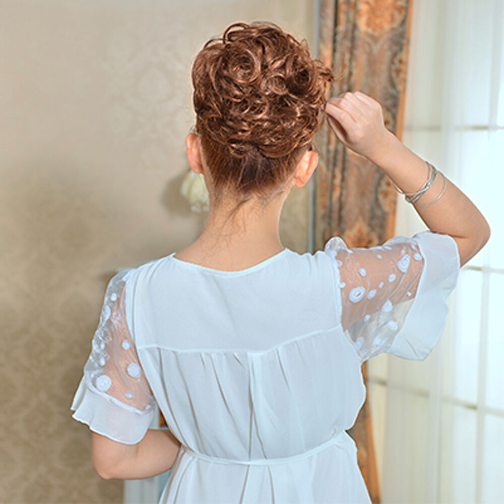 Fashion Girl Clip Ponytail Wavy Horsetail Long Hairpieces Curly Hair Extension Ebay