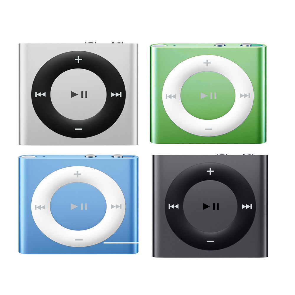 Apple iPod Shuffle 2GB 4th Generation Rechargeable iTunes ...
