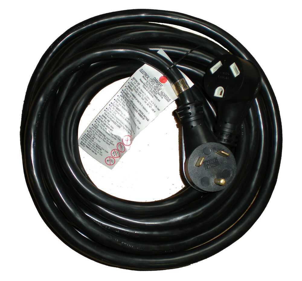 25 Ft Foot 30 Amp Rv Extension Cord Power Cable Trailer