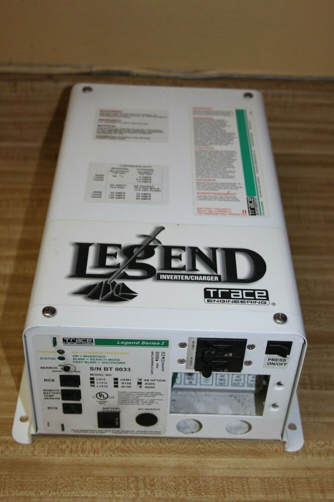 Legend Trace Charger Inverter Series 1 One S  N Bt 0033