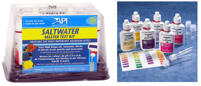 saltwater master test kit instructions