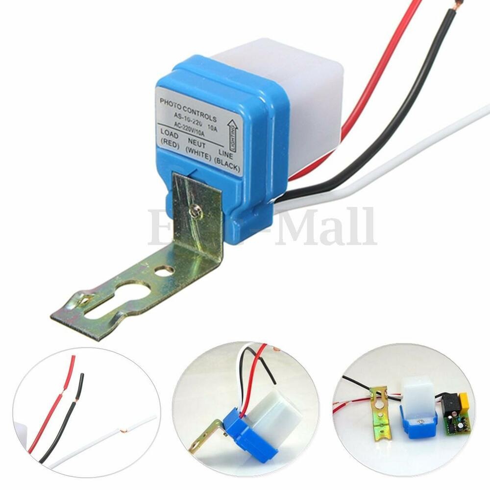 Automatic Auto On Off Street Light Switch Photo Control
