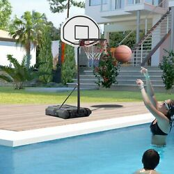 Kyпить Poolside Basketball Hoop System Pool Water Sport Game Play Outdoor Adjustable на еВаy.соm