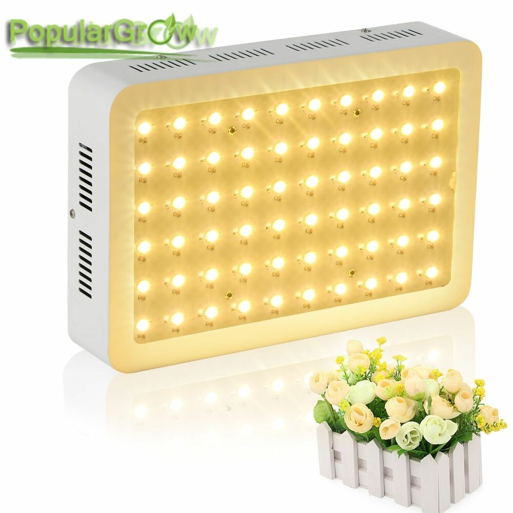 populargrow 300w led grow light vollspektrum pflanze. Black Bedroom Furniture Sets. Home Design Ideas