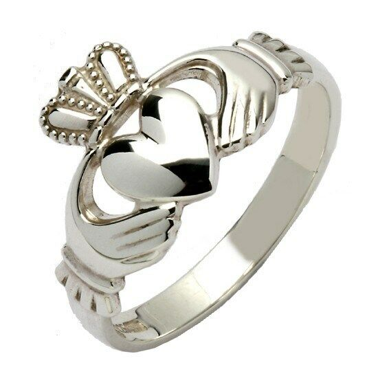 irish sterling silver made in ireland claddagh ring. Black Bedroom Furniture Sets. Home Design Ideas