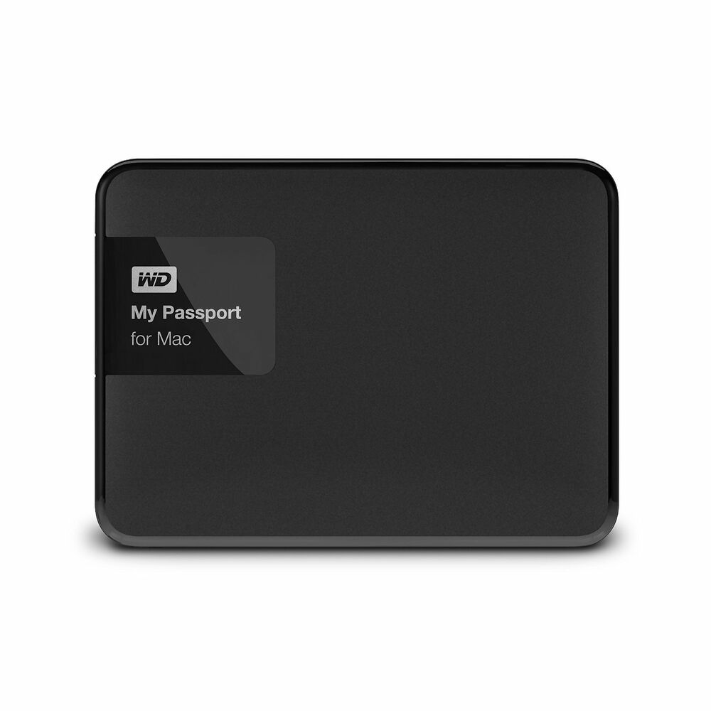 western digital wd 3tb my passport mac usb 3 0 portable external hard drive ebay. Black Bedroom Furniture Sets. Home Design Ideas