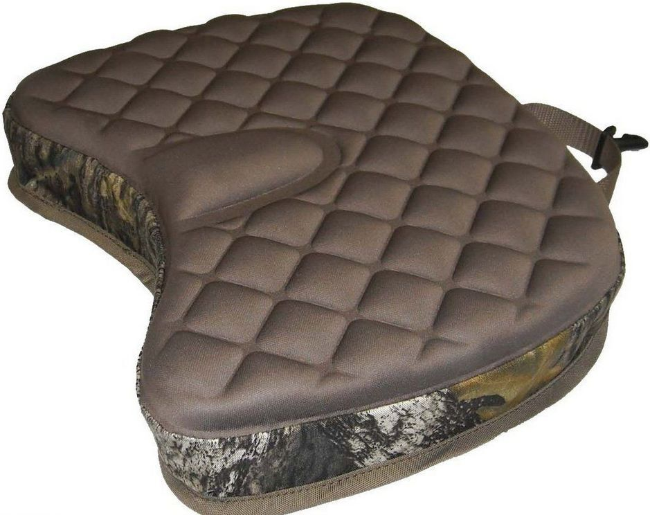 Deluxe Camo Cushioned Seat Hunting Fishing Sports Thick