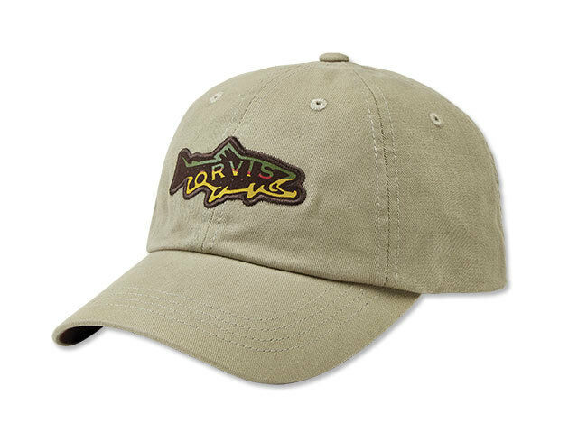 Orvis hook jaw trout ball cap ebay for Orvis fishing hat