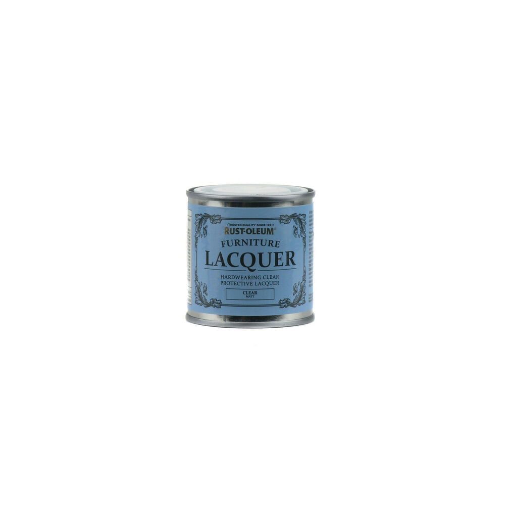 Rust-Oleum Furniture Clear Lacquer Matt Chalky Paint ...