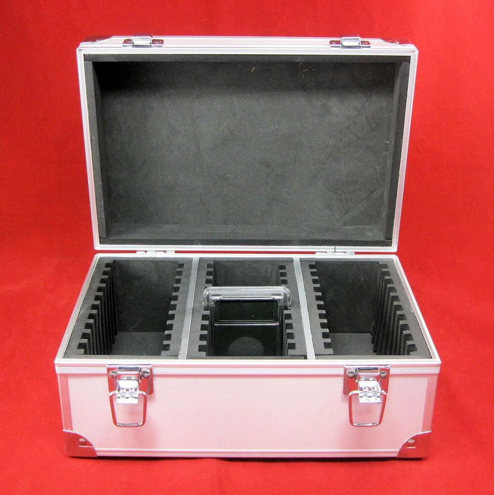 Aluminum Certified Coin Slab Storage Box Holds up to 30 ...
