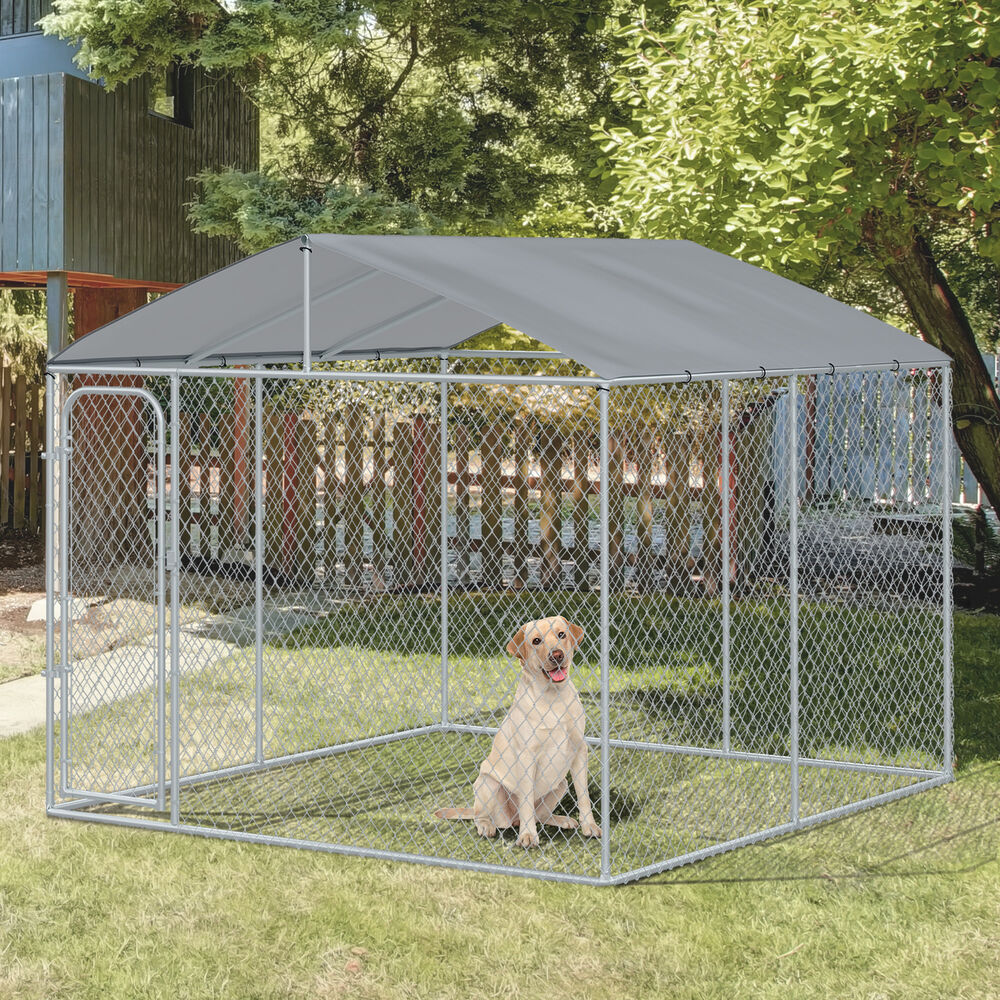 10ft Large Pet Kennel Playpen Dog House Exercise Cage W