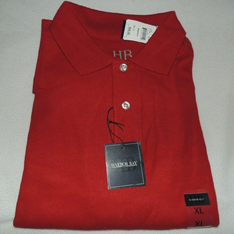 Harbor Bay Mens Polo Shirt New Size X Large Tall Ebay