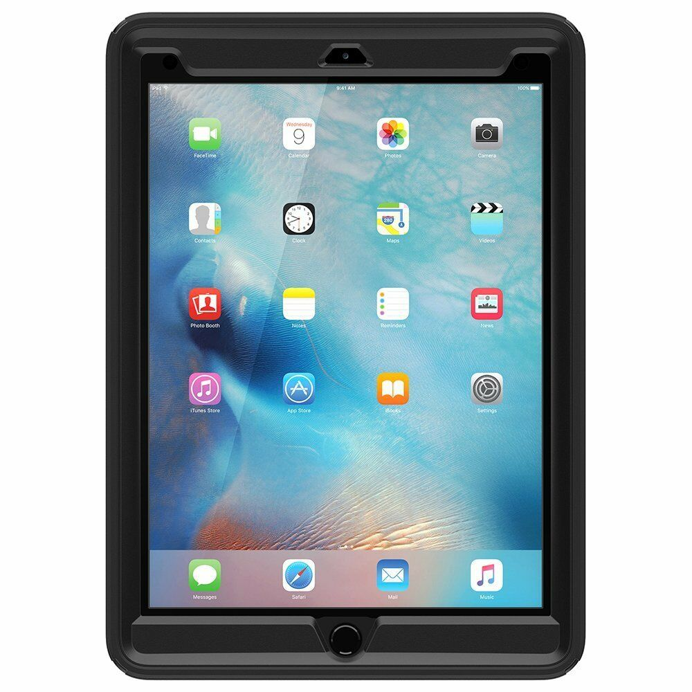 otterbox defender series ipad pro 9 7 black new 100 authentic ebay. Black Bedroom Furniture Sets. Home Design Ideas