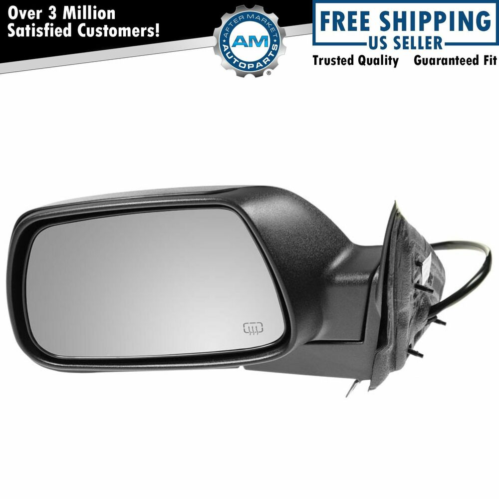 side view power heated mirror driver left lh for 05 10. Black Bedroom Furniture Sets. Home Design Ideas