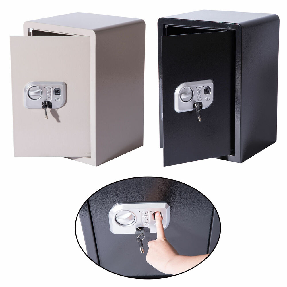 Large Biometric Fingerprint Electronic Safe Box Digital