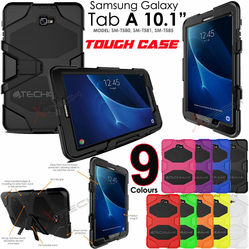 samsung galaxy tab a 10 1 t580 tough heavy duty shock. Black Bedroom Furniture Sets. Home Design Ideas