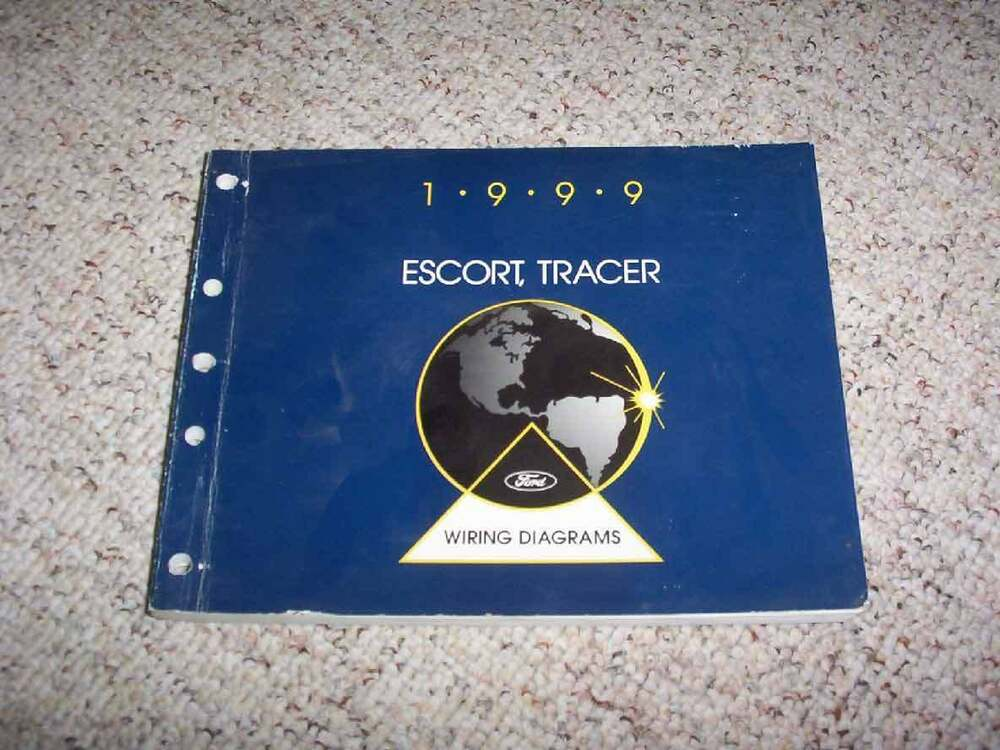 1999 Mercury Tracer Electrical Wiring Diagram Manual LS GS ...