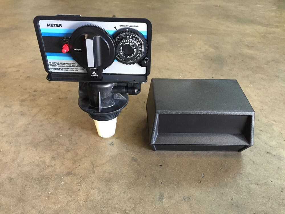 Fleck 5600 Metered Water Softener Valve With Cover