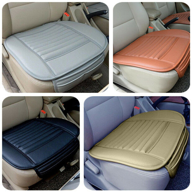 new car pu leather seat cover universal protection car supplies car seat cushion ebay. Black Bedroom Furniture Sets. Home Design Ideas