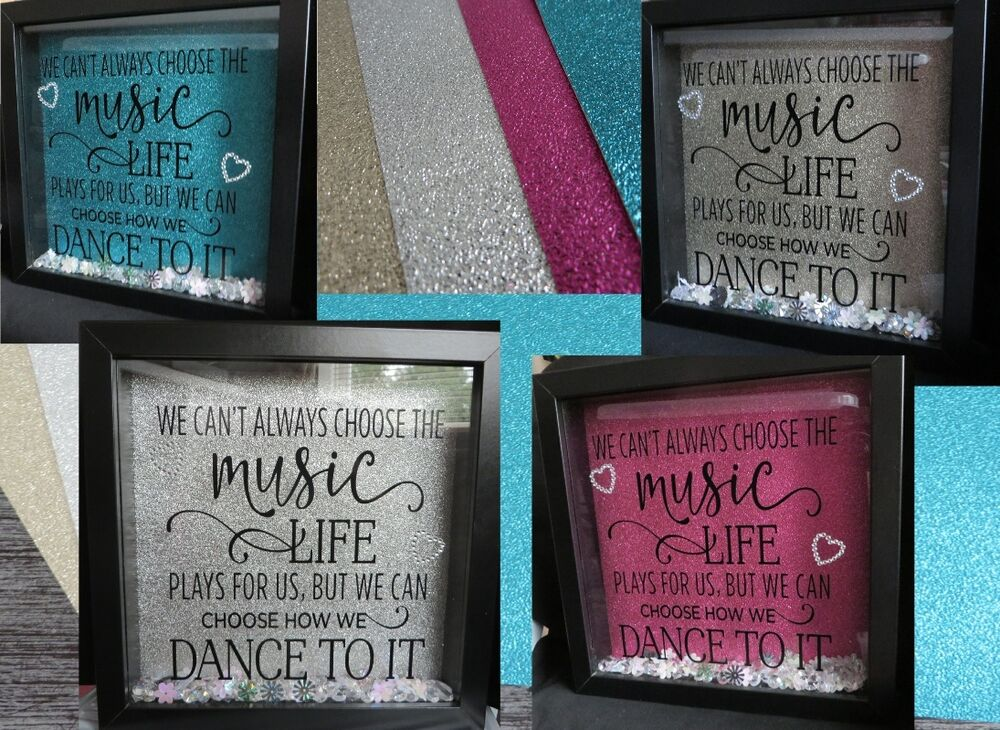glitter backing sheet for boxmemory frames pink gold silver teal