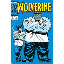 Marvel Wolverine No.8 Cover: Wolverine and Hulk Poster - 24x36