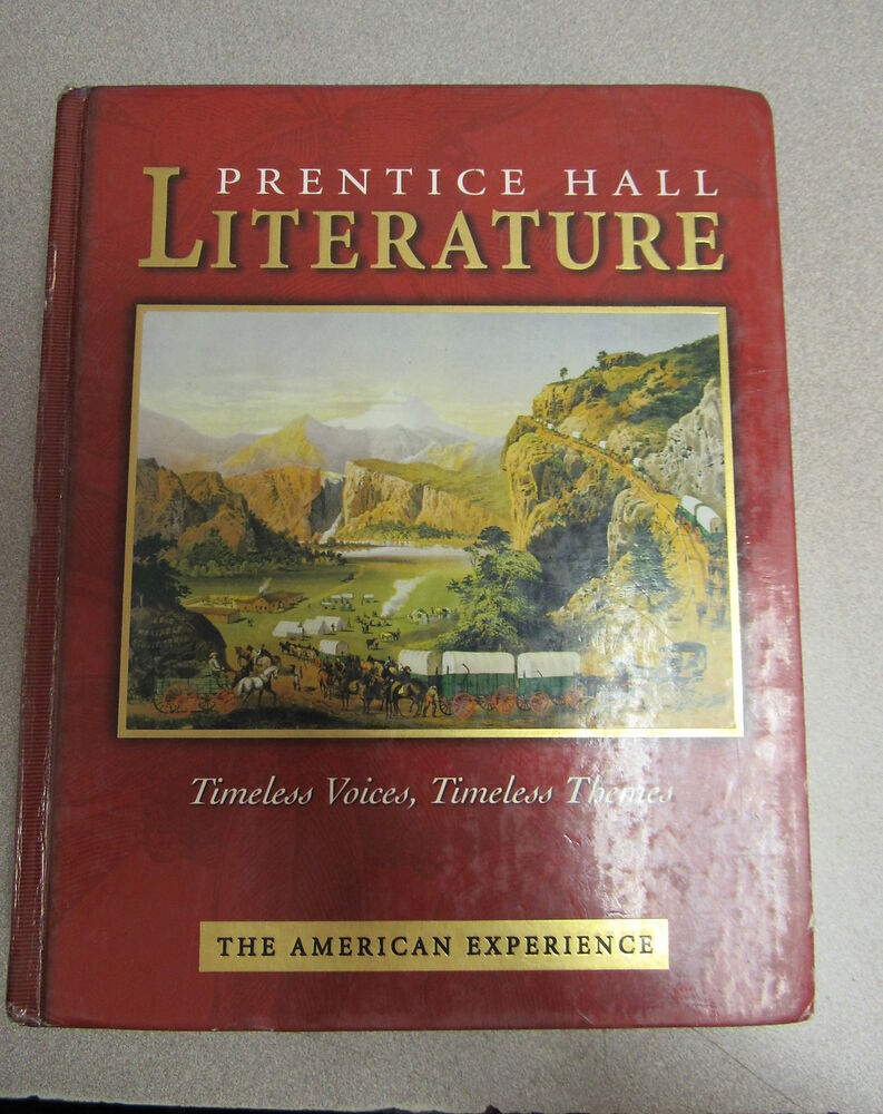 prentice hall american literature textbook