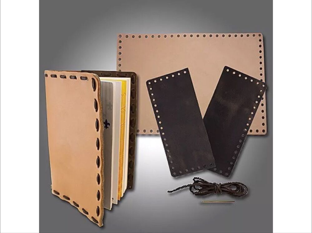 Craft On Book Cover : Slc diy scouts leather book cover kit camp fire