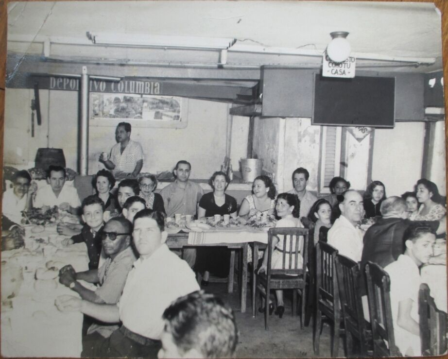 club restaurant cuba 1945s sports opens 8x10 photograph