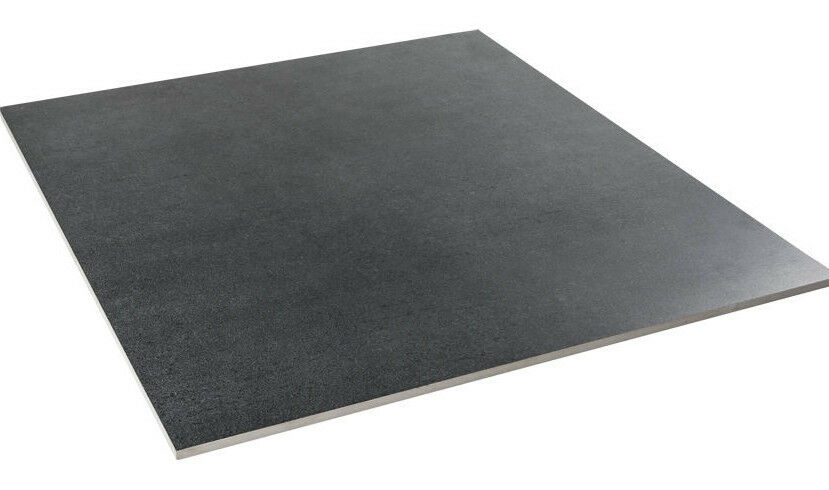 Gevalli super nero 60x60 bodenfliesen anthrazit matt 1 for Bodenfliesen anthrazit