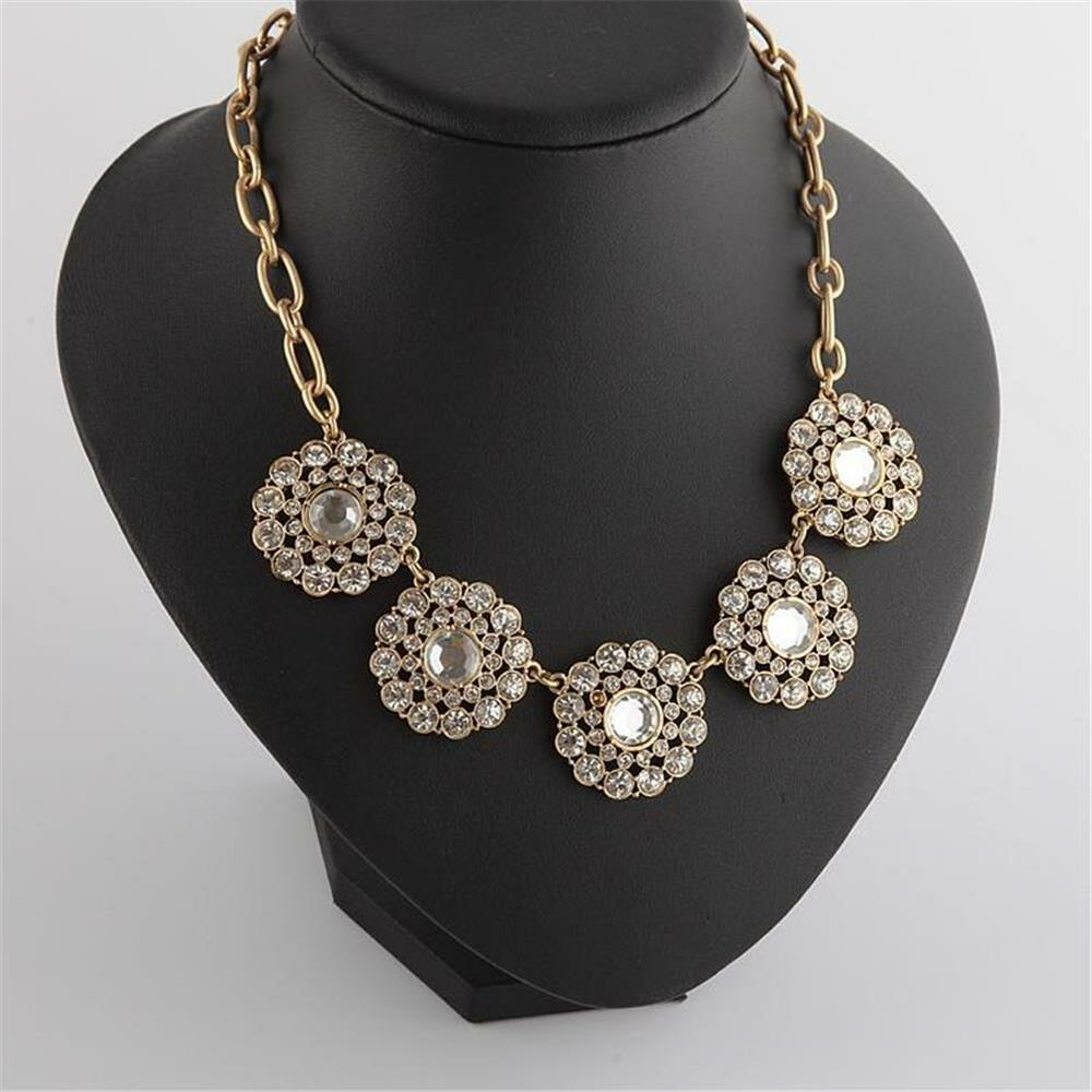 New j crew jeweled crystal necklace ebay for J crew jewelry 2015
