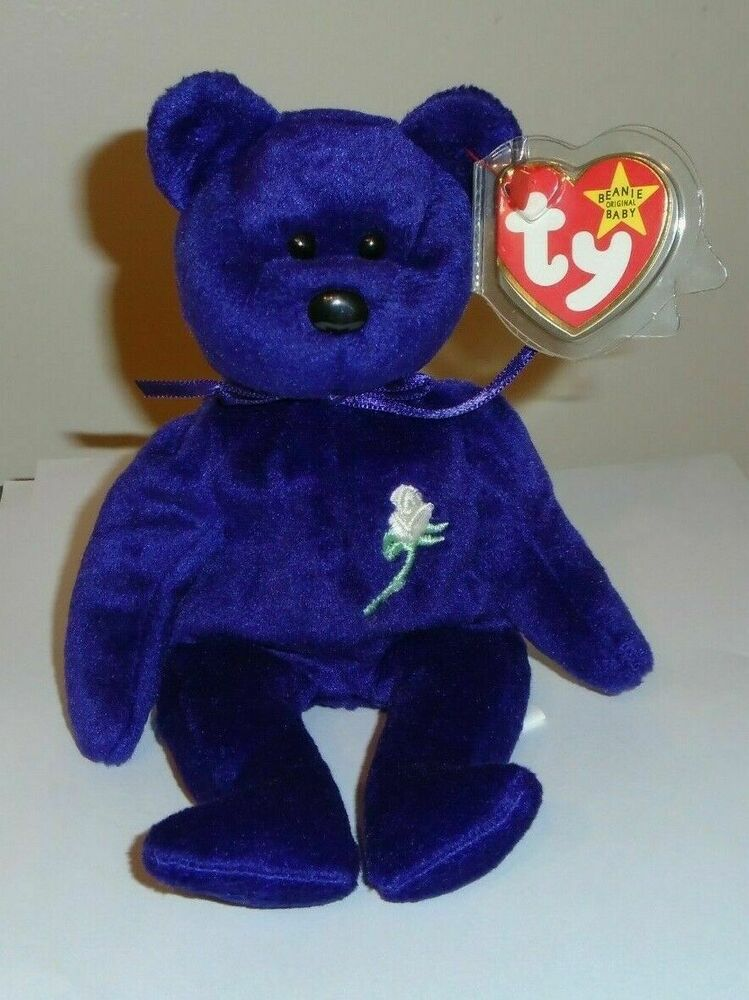 Ty Beanie Baby ~ PRINCESS the (Diana) Bear from 1997 ...