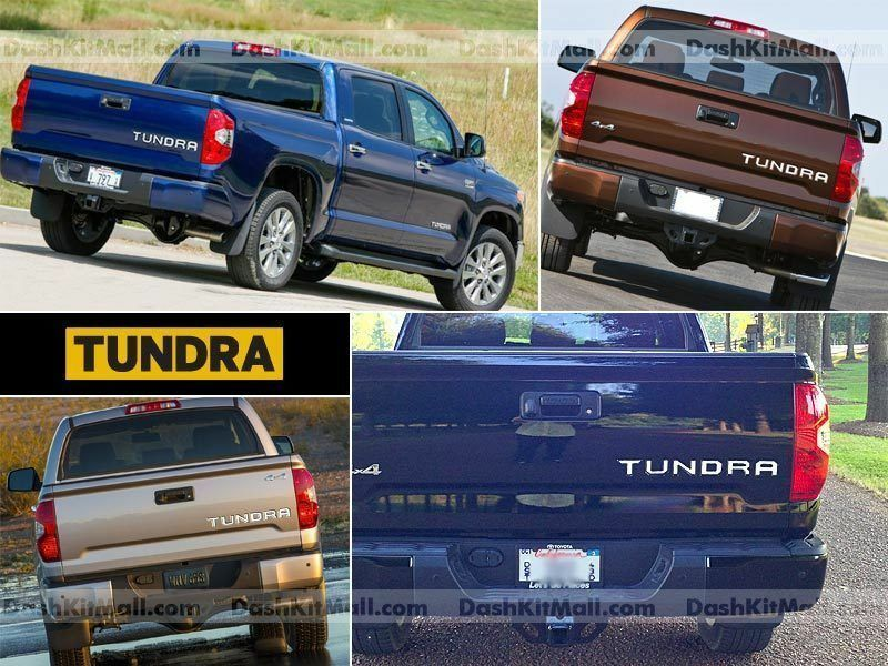 toyota tundra 14 15 16 chrome tailgate letters not decals With 2014 toyota tundra tailgate letters