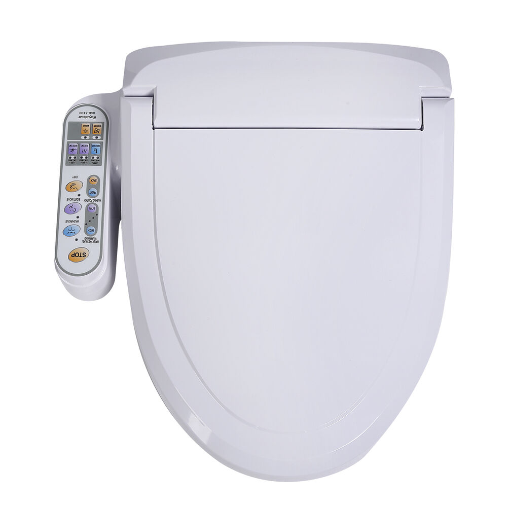Electric Smart Bidet Intelligent Toilet Seat Heated Water