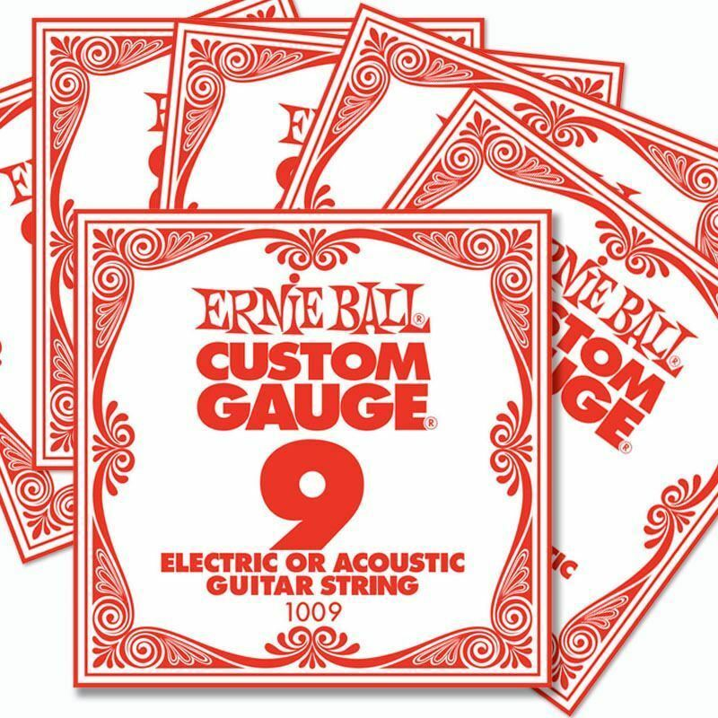 6 pack ernie ball custom gauge 9 s guitar single strings electric acoustic ebay. Black Bedroom Furniture Sets. Home Design Ideas