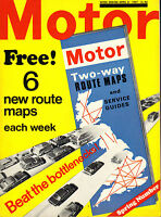the motor magazine dated april 1967 : road test the ford corsair